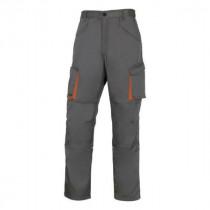 Pantalon de Travail DeltaPlus M2PA2 Gris-Orange