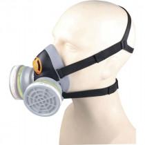 Masque Respiratoire Réutilisable DeltaPlus M6400 Noir-Gris