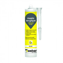 Mastic Acrylique Multi-Usages Weberseal Acrylic 300ml