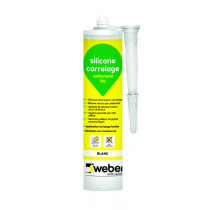 Mastic Silicone Carrelage Weberseal Tile 300ml