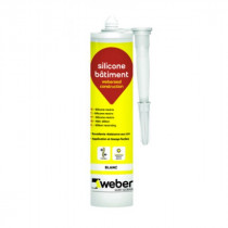 Mastic Silicone Bâtiment Weberseal Construction 300ml
