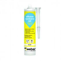 Mastic Silicone Sanitaire Weberseal Sanitary 300ml