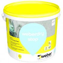 Mortier de colmatage ultra rapide Weber.Dry Stop 20 kg