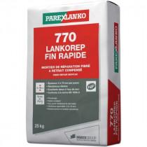 Mortier de Réparation Lankorep Fin Rapide 770 ParexLanko L77025 25 kg