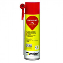 Mousse expansive Polyuréthane Weberfoam PU 500ml