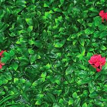 Mur Végétal Artificiel Bougain Villiers 80 mm 1m x 1m