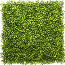 Mur Végétal Artificiel Buis Vert 80 mm 1m x 1m