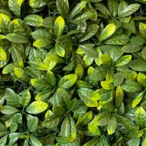 Mur Végétal Artificiel Laurier Cerise 40 mm 1m x 1m
