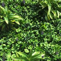 Mur Végétal Artificiel Lavande 40 mm 1m x 1m