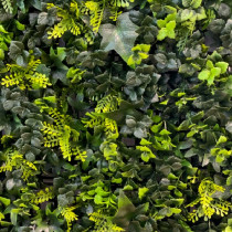 Mur Végétal Artificiel Lierre 40 mm 1m x 1m