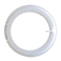 Oeil de boeuf ouvrant à la française en PVC, ovale 80 x 60 cm