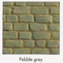 Pavés Courtstone 16,6 x 16,6 x 6 cm couleur Pebble Grey, la palette de 5,1 M2