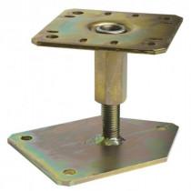 Pied de Poteau Réglable à Boulonner 130 mm Acier Simpson PBLR