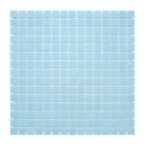 Mosaïque Bleue Décoration Nylon PDV51, Plaque 32,7 x 32,7 x 0,38 cm