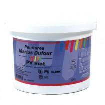 Peinture MD intérieur blanche mur et plafond PV Mat, 15 litres