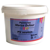 Peinture MD intérieur blanche mur et plafond PV Soyeux, 15 litres