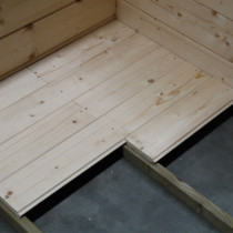 Plancher pour Abris de Jardin Autoclave SARAN Solid