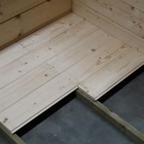 Plancher pour Abris de Jardin Autoclave DOLE Solid