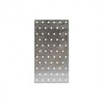 Plaque Perforée Charpente 80 x 220 x 1,5 mm en Acier Galva Simpson