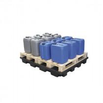 Plateforme Rétention 240l pour 2 Palettes Caillebotis Plastique Engels