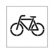 Pochoir symbole Vélo 45x40cm