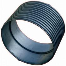 Manchon avec Joint pour Tuyau annelé/lisse 400 mm
