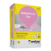 Ragréage Autolissant Sol Intérieur Weber.Niv For 25 kg