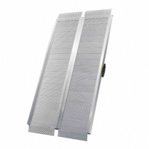 Rampe d'accès pliable 1250 x 760 x 130 mm Aluminium Viso RAMP125/2018
