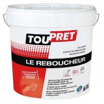 Enduit de Rebouchage en Poudre Toupret Le Reboucheur Blanc Seau 10kg