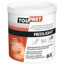 Enduit Allégé Rebouchage Lissage Pâte Toupret Redlight Blanc Pot 1l