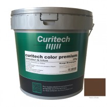 Rénovateur de toiture Curitech color premium Teck, 20 kg