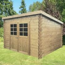 Abri de jardin bois autoclave SOLID modèle RIOM 298x238cm