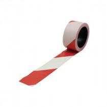 Ruban de Signalisation 50 mm x 100 m Rouge et Blanc Viso RSNA01RB