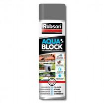 Spray Aquablock Gris pour Revêtement Extérieur Rubson, 300ml