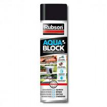 Spray Aquablock Noir pour Revêtement Extérieur Rubson, 300ml