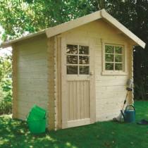 Abri de jardin bois autoclave SOLID modèle SARAN 298x198 cm