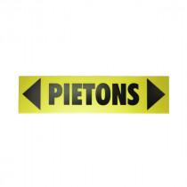 Panneau Direction Piéton 60 x 15 cm