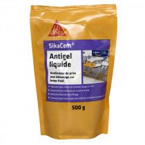 Anti Gel Liquide pour Béton et Mortier Sikacem, 0,5 litres