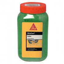 Colorant Vert Mortiers et Bétons Sikacem Color, 900g