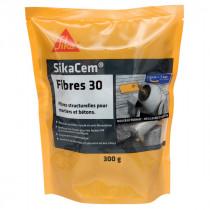 Sikacem Fibre 30 Fibres Structurales pour Béton, 300g