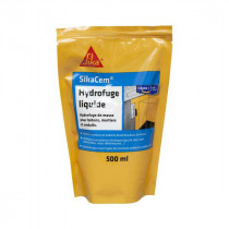 Hydrofuge Liquide pour Béton et Mortier Sikacem 500ml