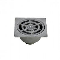 Siphon de Sol 250 x 250 mm en Aluminium