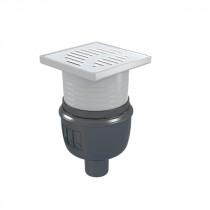 Siphon Douche Showerdrain Easyflow ACO 100x100 Inox 304 brillant GE50mm