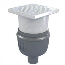 Siphon Douche Showerdrain Easyflow ACO 150x150 Inox 304 Brillant GE50mm