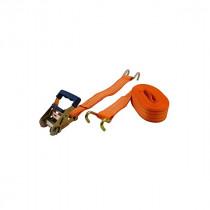 Sangle Cliquet et Crochets 50 mm x 8 m pour Poids lourd Orange Viso SPL801