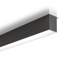 Suspension LED Planlicht Pure 3 Noir 3000K 160cm P33H169-9005E1830H3M