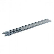 Suspente Longue 18/45 pour Plafond 310 x 43 mm PAI en Acier, boite de 50