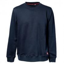 Sweat-shirt Bosseur Col Rond Trevor Marine