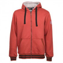 Sweat-shirt doublé Sherpa Bosseur Oural Rouge