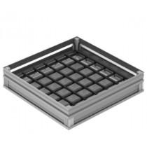 Tampon Aluminium a carreler 700 x 700 mm ACO L15